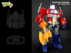 Shadow Fisher SF-M01A SF-M01A HEAD AND MATRIX for Takara MP-10